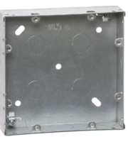 ML ACCESSORIES 6-8G 35mm Galvanised (Steel) Box