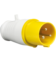 ML Accessories 110V IP44 16A Plug 2P+E x 10 Pack (Yellow/White)