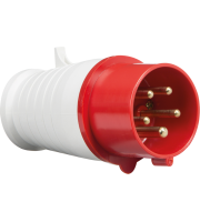 ML Accessories 415V IP44 16A Plug 3P+N+E X 10 Pack (Red/White)