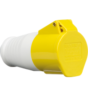 ML Accessories 110V IP44 16A Connector Xn 10 Pack (Yellow/White)
