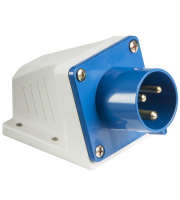 ML Accessories 240V IP44 16A Appliance Inlet (Blue/White)