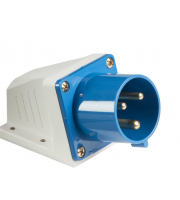 ML Accessories 240V IP44 32A Appliance Inlet (Blue/White)
