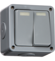 ML ACCESSORIES IP66 10A 2G 2-Way Switch