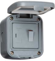 ML ACCESSORIES IP66 13A Switched Fused Spur Unit