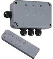 Knightsbridge IP66 3G Remote Switch Box (Grey)