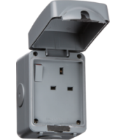 ML ACCESSORIES IP66 13A 1G Dp Switched Socket