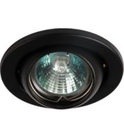 ML ACCESSORIES IP20 12V 50W Max. L/v (Black) Eyeball Downlight With Bridge