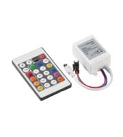Knightsbridge IR Controller and RemoteRGB Chaser (White)