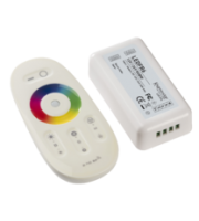 Knightsbridge RF Touch Controller and RemoteRGBW (White)