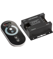 Knightsbridge RF Controller and Touch RemoteDimmer Single Colour (Black)