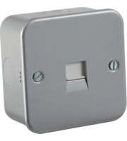 ML ACCESSORIES Metal Clad Telephone Master Socket