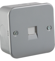 ML ACCESSORIES Metal Clad Telephone Extension Socket