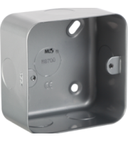 ML ACCESSORIES Metal Clad 1G Back Box