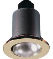 ML ACCESSORIES IP20 230V 60W Max. R63 (Brass) Mains Downlight