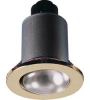 ML ACCESSORIES IP20 230V 80W Max. R80 (Brass) Mains Downlight