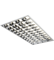ML ACCESSORIES 230V IP20 4x36W T8 Hf Emergency CAT2 Modular Fluorescent Fitting 600x1200mm