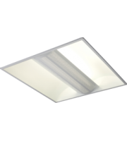 ML ACCESSORIES 230V IP20 2x55W Pl Hf Perforated Panel Fluorescent Modular Fitting 600x600mm