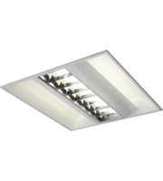 ML ACCESSORIES IP20 230V 2x55W Hf CAT2 Emergency Modular Fluorescent Fitting 600x600mm
