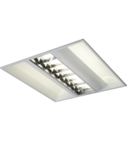 ML ACCESSORIES IP20 230V 2x55W Hf CAT2 Modular Fluorescent Fitting 600x600mm