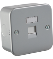 ML ACCESSORIES Metal Clad RJ45 Network Outlet