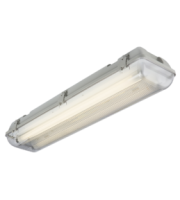 ML ACCESSORIES 230V IP65 T8 Twin Led Ready Anti Corrosive Fitting (2ft)