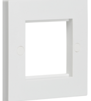 ML ACCESSORIES 2G (White) Modular Faceplate