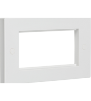 ML ACCESSORIES 4G (White) Modular Faceplate