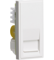 ML ACCESSORIES (White) Modular Telephone Master Outlet Idc