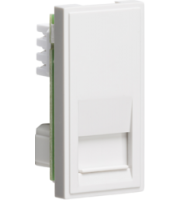 ML ACCESSORIES (White) Modular Telephone Slave Outlet Idc