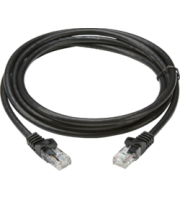 ML ACCESSORIES (Black) 1m Utp CAT6 Networking Cable