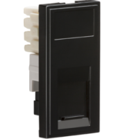 ML ACCESSORIES (Black) Modular RJ11 Outlet