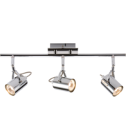 Knightsbridge Triple bar Spotlight  (Chrome)