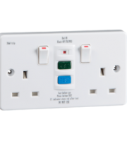 ML ACCESSORIES 13A 2G Rcd Switched Socket