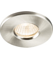 ML ACCESSORIES IP65 GU10/MR16 Recessed Downlight - (Brushed Chrome)