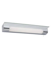 ML ACCESSORIES 230V IP44 11W Led Shaver/ Shelf Light With Usb Domestic Bathroom