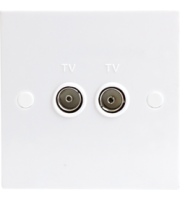 ML ACCESSORIES 1G Twin Tv Outlet