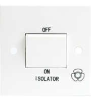ML ACCESSORIES 10A 3 Pole Fan Isolator Switch