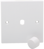 ML ACCESSORIES 1G Plate With Dimmer Knob