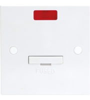 ML ACCESSORIES 13A Fused Spur Unit With Flex Outlet And Neon