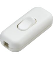 ML ACCESSORIES 6A Dp Inline Cord Switch - (White)