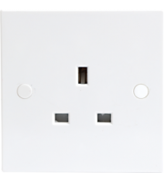 ML ACCESSORIES 13A 1G Unswitched Socket
