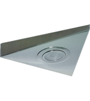 ML ACCESSORIES IP20 20W Mini Triangular Under Cabinet Fitting In Chrome