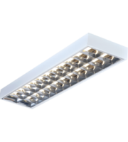 ML ACCESSORIES IP20 2x36W 4ft T8 Surface Mounted Fluorescent Fitting 1220x305x80mm