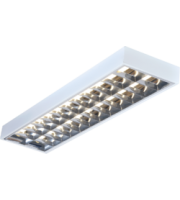ML ACCESSORIES IP20 2x58W 5ft T8 Surface Mounted Fluorescent Fitting 1520x304x80mm