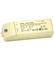 ML Accessories 35-105W Dimmable Transformer (White)