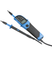 Knightsbridge CAT III 2-Pole Tester with LED and LCD Display (Grey)