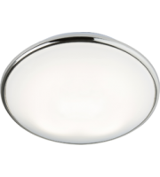 ML ACCESSORIES IP20 28W 2D Hf Emergency Bulkhead With Opal Diffuser And Chrome Base