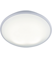ML ACCESSORIES IP20 28W 2D Hf Bulkhead With Opal Diffuser And White Base