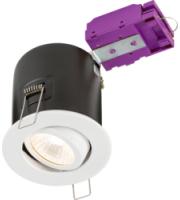 ML ACCESSORIES 230V Tilt GU10 Fire-rated Downlight White