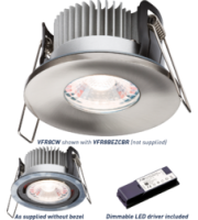 ML ACCESSORIES Proknight Led IP65 8W Fire-rated Downlight 4000K